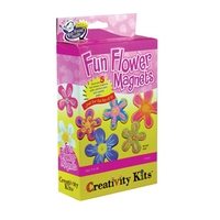 Creativity for Kids Fun Flower Magnets Kit